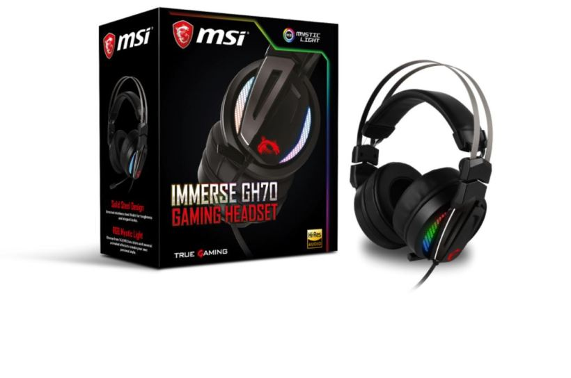 msi lance son casque gaming haut de gamme metatrone. Black Bedroom Furniture Sets. Home Design Ideas