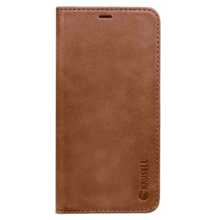 Housse Samsung Galaxy Note 8 Krusell Sunne portefeuille – Cognac