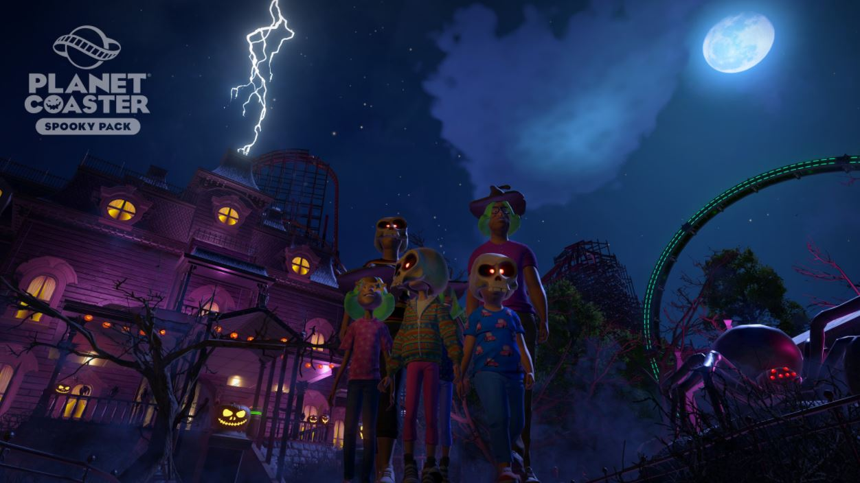 Spooky Pack Planet Coaster Steam15