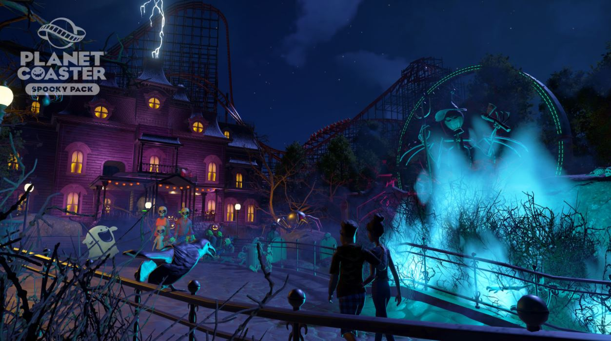 Spooky Pack Planet Coaster Steam156