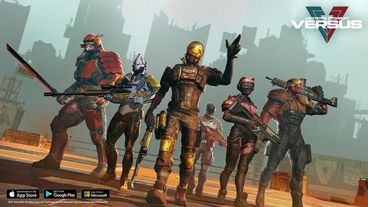 date de sortie Modern Combat Versus sur mobiles et tablettes
