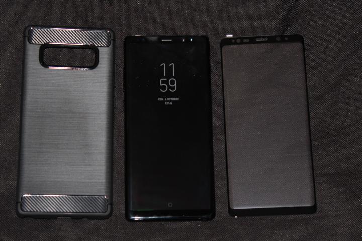 Coque Samsung Galaxy Note 8 Olixar Sentinel avec protection écran 5