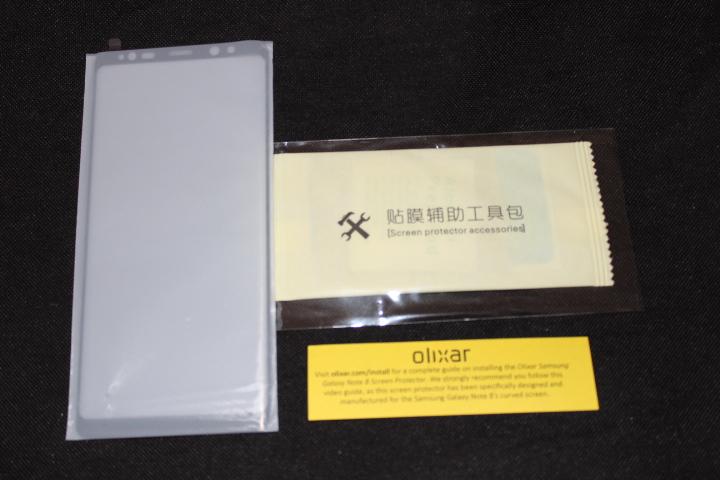 Coque Samsung Galaxy Note 8 Olixar Sentinel avec protection écran 6