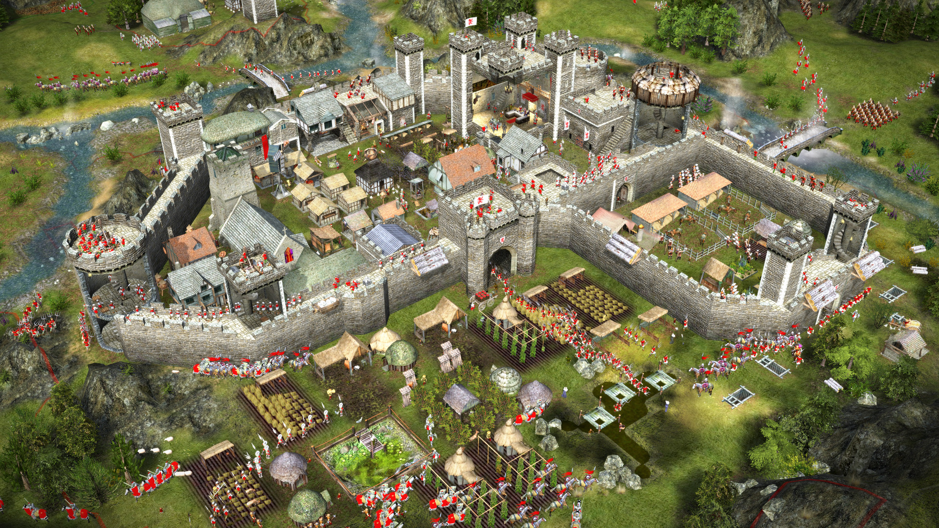 Stronghold 2 Steam Edition mise à jour 1
