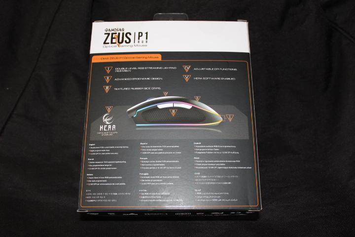 Test souris optique Gamdias Zeus P1 RGB 2