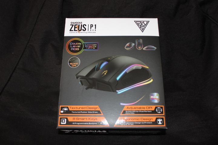 Test souris optique Gamdias Zeus P1 RGB