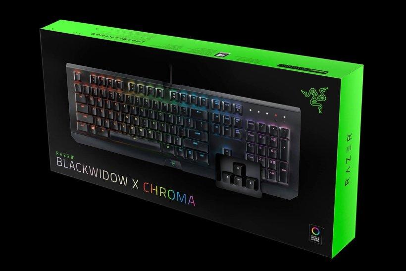 concours Razer blackwidow X Chroma octobre 2017
