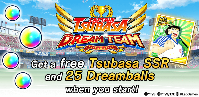 Captain Tsubasa Dream team android ios 1