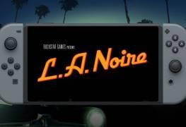 L.A. Noire nintendo switch date de sortie