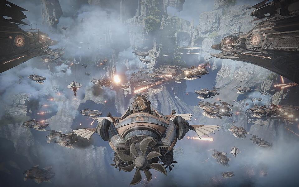 MMORPG AAA 2018 Ascent Infinite Realm A IR bluehole kakao games 1