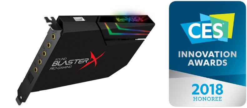 carte son Creative sound blasterX AE-5