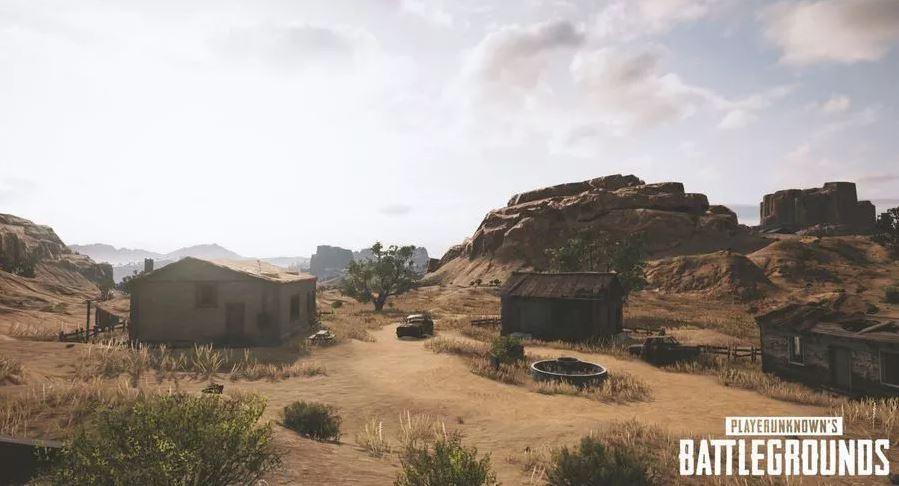 nouveaux screenshot map désert PUBG 144
