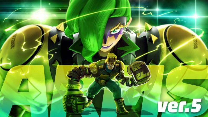 Nintendo Switch Arms nouveau personnage Dr. Coyle madame la directrice