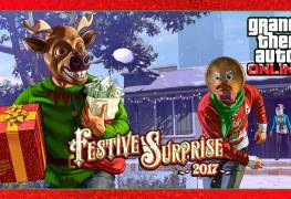 Surprise Festive 2017 GTA Online