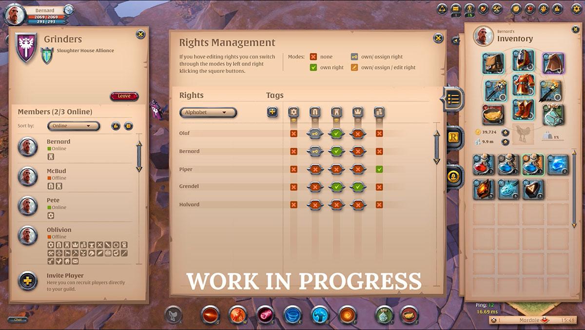 Albion online mise à jour guilde Lancelot 12