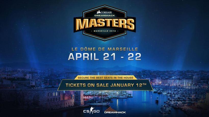 DreamHack Masters CORSAIR Marseille billet