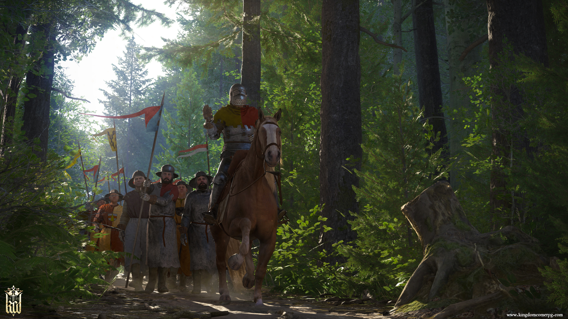 Kingdom Come Deliverance trailer screen1