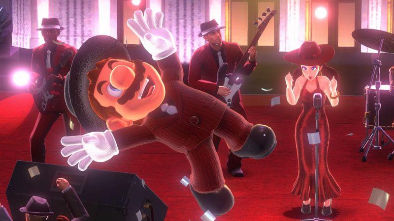 Mise à jour Super Mario Odyssey date de sortie nouvelles tenues46