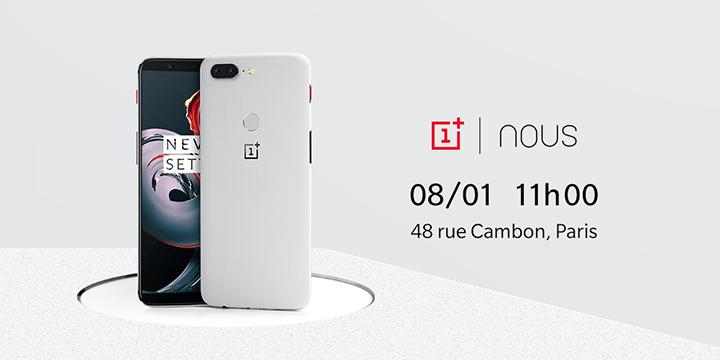 OnePlus 5T Sandstone White en édition limitée stock disponible