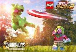 Pack de personnages Cahmpions LEGO Marvel Super Heroes 2