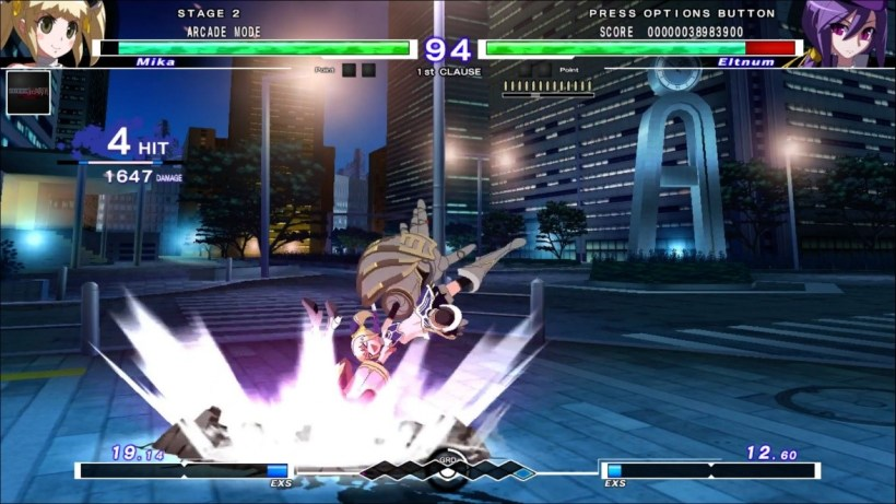 UNDER NIGHT IN-BIRTH Exe Late ps3 ps4 ps vita 123