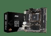 carte mère Mini-ITX B350I Pro AC