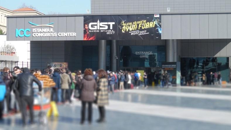 GIST 2018 troisième plus grand salon d'europe gaming istambul 6