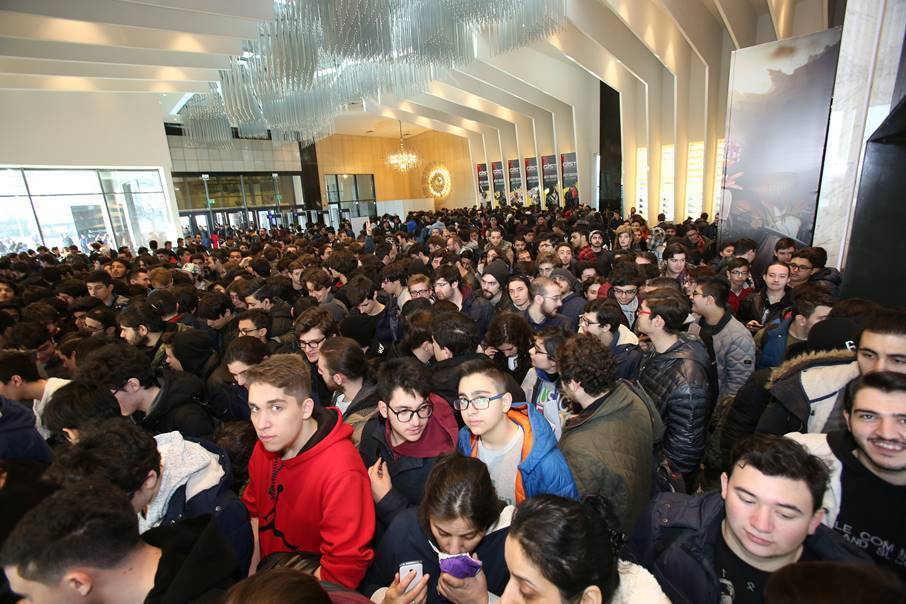 GIST 2018 troisième plus grand salon d'europe gaming istambul