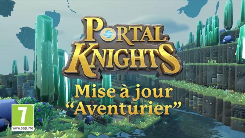 Portal Knights - Mise à jour de l'aventurier !