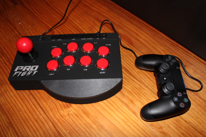 Test Pro Fight Arcade Stick ps4 xbox one ps3 by Subsonic screen1