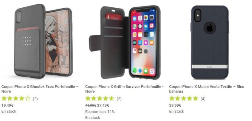 coques et protections Mobile Fun iPhone X screen1