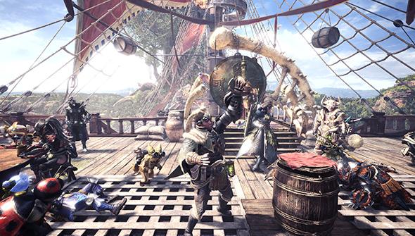 grand pont Monster Hunter World