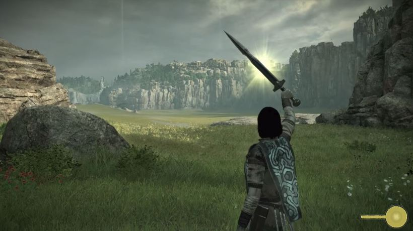 test shadow of the colossus 2018 ps4 PRO 000