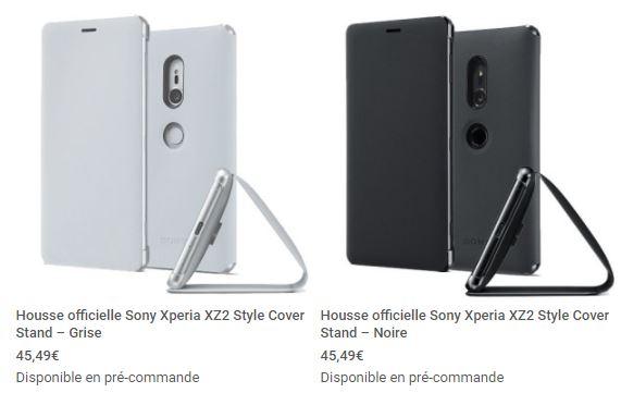 housse officielle Sony Xperia XZ2 mobile fun 1