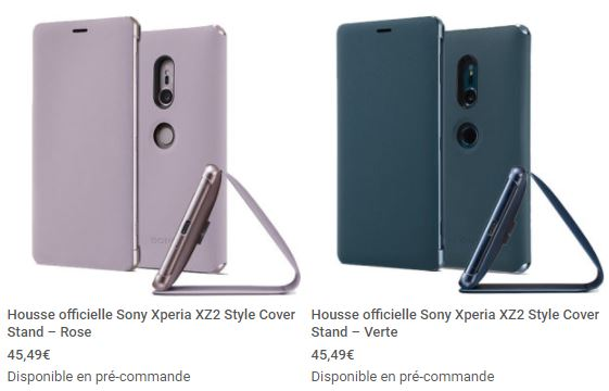 housse officielle Sony Xperia XZ2 mobile fun 12
