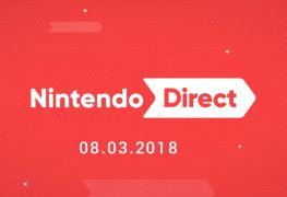liste des jeux nintendo direct 8 mars 2018