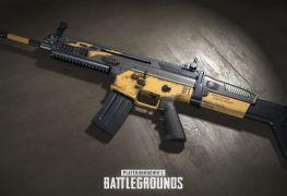 skin d'arme gratuit dans PUBG