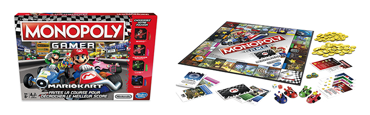 Monopoly gamer mario kart amazon