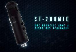 Nacon ST-200MIC screen