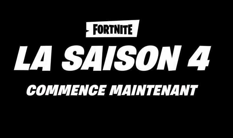Saison 4 de Fortnite Battle Royale
