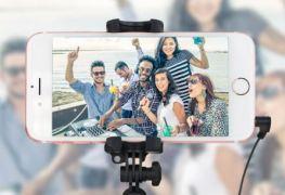 Test Perche selfie de poche Olixar avec miroir screen12