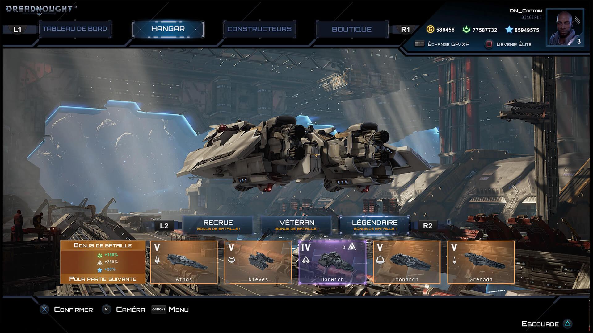 La mise à jour colossale sur PS4 — Dreadnought