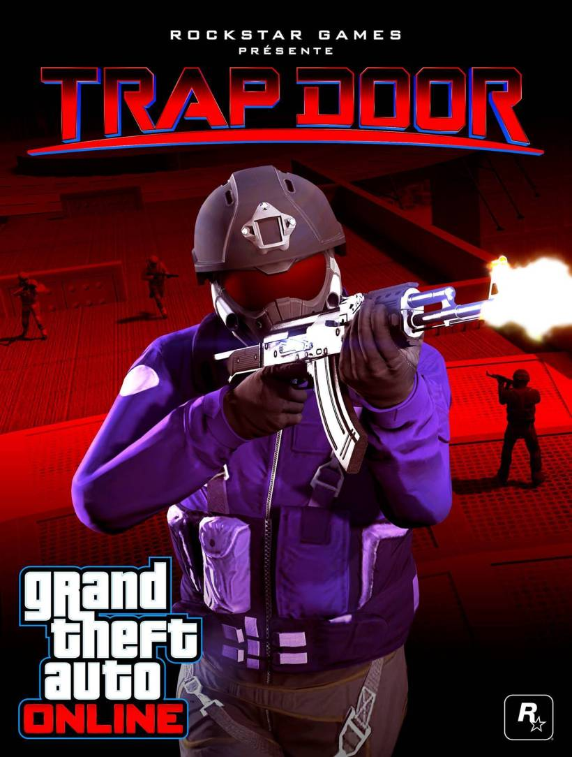 gta online trap door farces et trappes