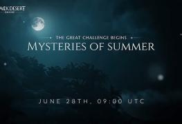 Mystère de l'été Black Desert Online BDO Mysteries of summer