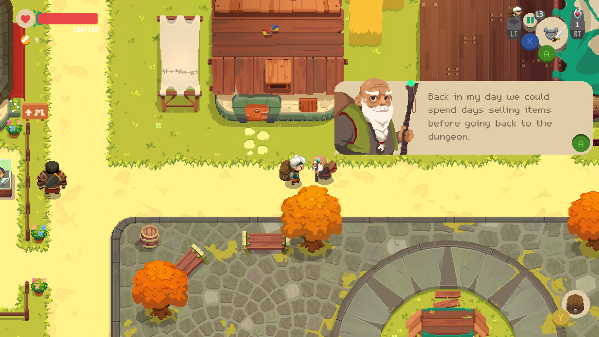 Test Moonlighter pc screen1