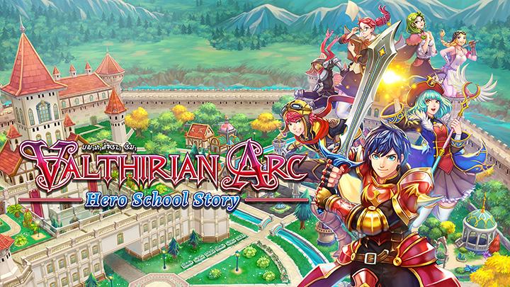 Valthirian Arc Hero school Story ps4 nintendo switch pc steam 4