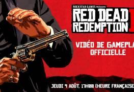 Vidéo de gameplay Red dead Redemption 2 jeudi 9 aout