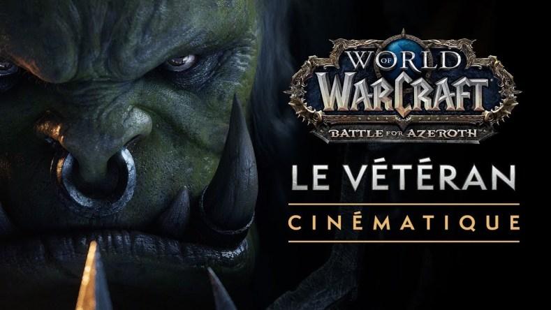 world of wacraft veteran cinematique
