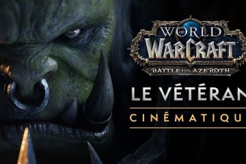 world of wacraft veteran cinematique