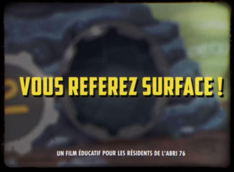Fallout 76 Vous referez surface